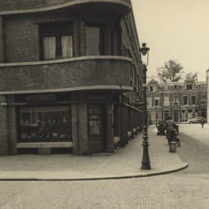 Maison Kelder, winkel banketbakkerij, Weissenbruchstraat, jaren 50