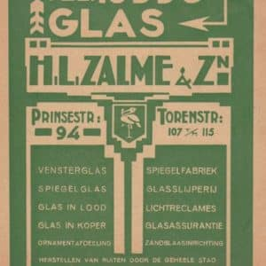 Zalme & Zn, H.L., glas (1914-1949)