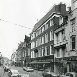 Pelger winkel, Prinsestraat, 1973