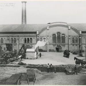 Eerste Gemeente Gasfabriek, Gaslaan, ca. 1912