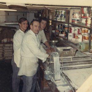 Maison Kelder, banketbakkerij, Weissenbruchstraat, jaren 70