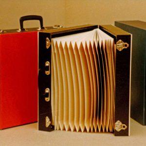 Koffers langspeelplaten, Kofferfabriek Gefken, Donau 100, 1981