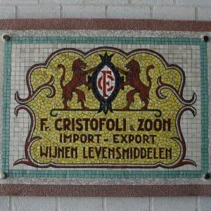 Cristofoli, F., levensmiddelen groothandel (1930 - heden)
