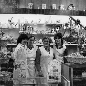 Maison Kelder, winkel banketbakkerij, Weissenbruchstraat, jaren 80