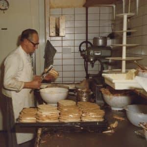 Maison Kelder, banketbakkerij, Weissenbruchstraat, 1979