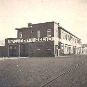 Waldorp Radio fabriek, Waldorpstraat, 1941