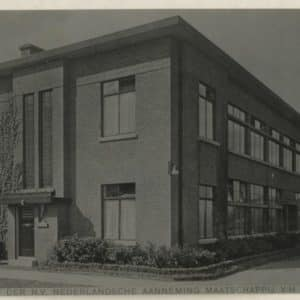 Nederlandsche Aannemingmaatschappij v/h Firma H.F. Boersma (1899 - 1901)