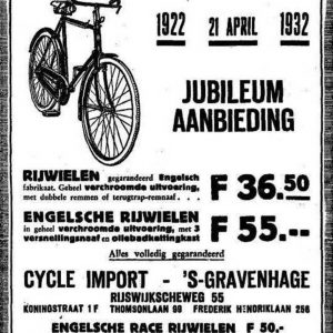 Cycle Import (1922 - ?)