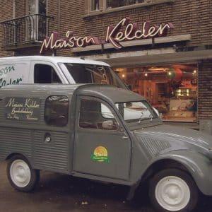 Maison Kelder, winkel banketbakkerij, Arabislaan, jaren 90