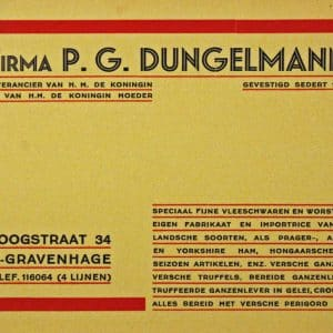 Dungelmann slagerij (1861 - heden)