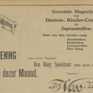 Voss en Zonen, B.J. (1874 - ?)