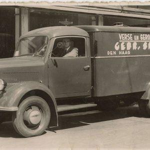 Vrachtwagen Simonis vis, jaren 50