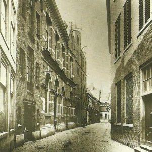 Eerste elektriciteitscentrale den haag, Hofsingel 25, ca. 1900