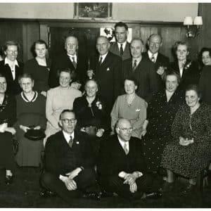 Familie Verseveldt, 25-jarig bestaan Felix Kattenbrood, 1951