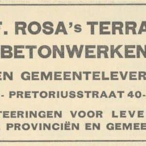 G. & F. Rosa, terrazzo en mozaiekwerken (1909 - ca.1985)