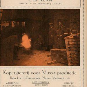 Cuprera, ateliers voor metaalbewerking (1910 - ?)