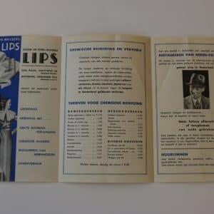 Lips, stomerij en wasserij (1931 - heden)