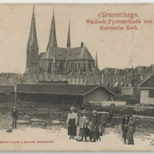 Houthandel Van Gogh, Waldeck Pyrmontkade, ca. 1900