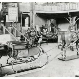 Rijtuigfabriek Van den Bergh tentoonstelling Dierentuin, 1904