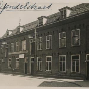 J. den Dulk, Gondelstraat, ca. 1934