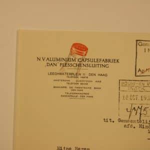 Dan, aluminium capsulefabriek (1909 - ca. 1990)