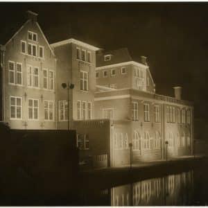 Maatschappij De Veluwe aan de Trekvliet, ca. 1930