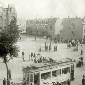 De Vierkleur, Rijwielfabriek, laan van Meerdervoort, 1914