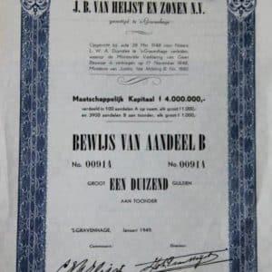 Heijst en zonen, J.B. van (1870-1967)