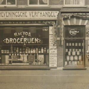 De Vos, drogisterij en verfwinkel, Maaswijkstraat 86-94, 1914
