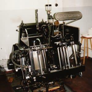 Die Haghe, Drukkerij (1927 - 1998)