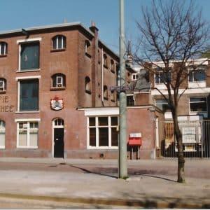Het bedrijfspand van Reuser & Smulders, Brouwersgracht, jaren 90