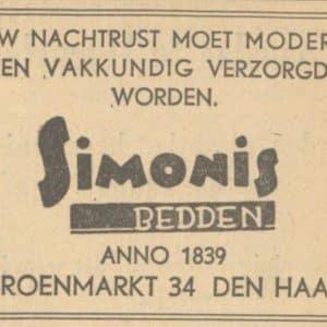 Simonis Beddenmagazijn (1839 - 1975)