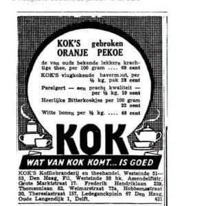 Kok, C.T., koffiebrander (1895 - ?)