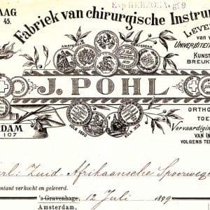 Pohl, J.,  medische instrumenten (ca. 1820 - ca.1990)