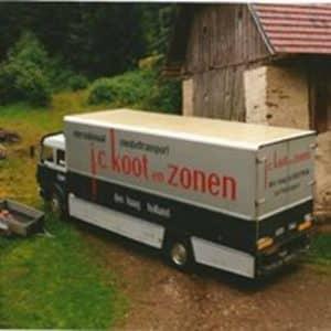 Koot, J.C. & Zonen, verhuizingen (1890 - 1993)