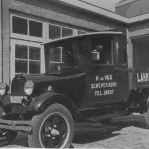 De Vos, verffabriek, bedrijfswagen, jaren 30