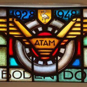 ATAM, taxi, gedenkraam 1948