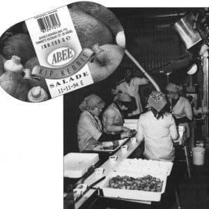 Abee Salades jaren70