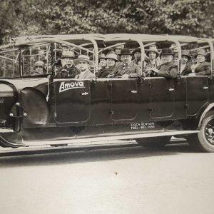 Amova, bus, Nederlandse Reisvereniging, afd. Haarlem, ca. 1927-32