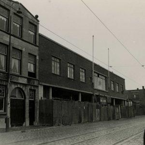 Auto Service, Forddealer, Waldorpstraat, ca.1950