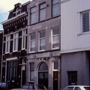 Bakker, steenhouwerij, Waldorpstraat, ca. 1990