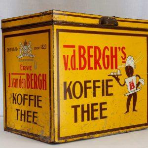 Koffievoorraadblik van den Bergh