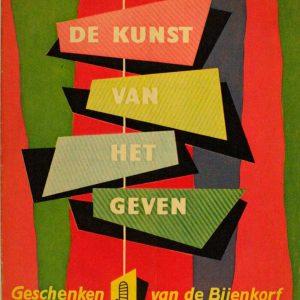 Reclamekrant De Bijenkorf, 1952