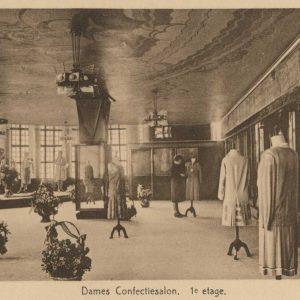 Bijenkorf, dameskledingafdeling, 1926