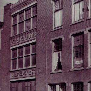 Van Boheemen, verhuizer, Kepplerstraat, ca.1950