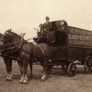 Van Boheemen, verhuizer, concours Houtrust, 1917