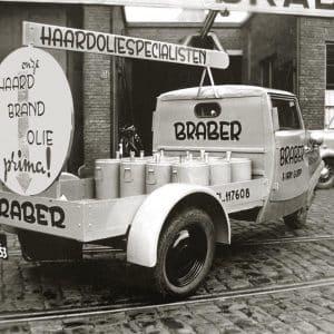 Braber haardolie, 1e van der Kunstraat 331, jaren 30