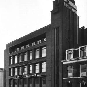 De Centrale, verzekeringen, Rijnstraat, jaren 50