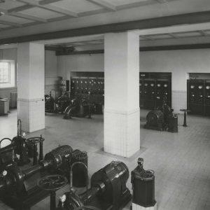 DWL, machinekamer, Pompstationsweg, 1953