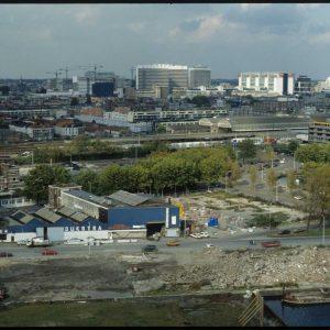 Bouwmaterialen Dijkstra, vlak voor sloop 1993